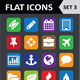 Universal Colorful Flat Icons. Set 3. - GraphicRiver Item for Sale