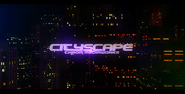 After Effects Project - VideoHive CityScape 522213
