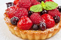 Cake with fresh berries - PhotoDune Item for Sale