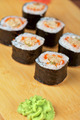 sushi rolls with tobico and pancake - PhotoDune Item for Sale