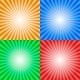 Color Sun Sunburst Background - GraphicRiver Item for Sale