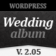 Wedding Album Premium Wordpress Theme - ThemeForest Item for Sale