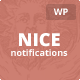 Nice Notifications - WordPress Notification Bars - CodeCanyon Item for Sale