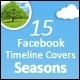 15 Facebook Timeline Covers - Seasons - GraphicRiver Item for Sale