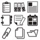 Document Office Icons - GraphicRiver Item for Sale