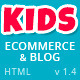 Kids Planet - Responsive Ecommerce/Blog HTML Theme - ThemeForest Item for Sale