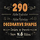 290 Handwritten Decorative Shapes 06 - GraphicRiver Item for Sale
