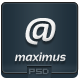 Maximus - PSD Email Template - GraphicRiver Item for Sale