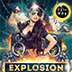 Explosion Party Flyer - GraphicRiver Item for Sale