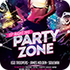 Party Zone Flyer - GraphicRiver Item for Sale