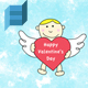 Floating Cupid With Personal Message - ActiveDen Item for Sale