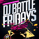 Dj Battle Flyer Template - GraphicRiver Item for Sale