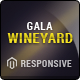 Responsive Magento Theme - Gala VineYard - ThemeForest Item for Sale