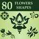 Flowers Custom Shapes - GraphicRiver Item for Sale