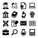 School and Education Icons Set - GraphicRiver Item for Sale