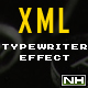 XML Text with Typewriter Effect - ActiveDen Item for Sale