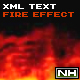 XMLText In Fire - ActiveDen Item for Sale