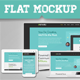 Responsive Flat Mockup Devices Pack - GraphicRiver Item for Sale