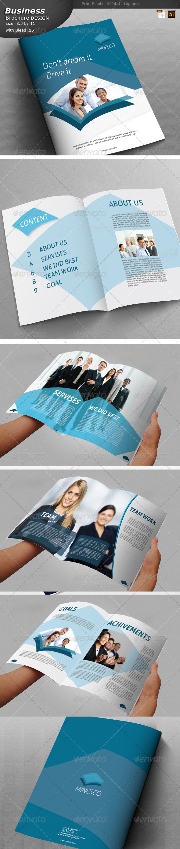 GraphicRiver Business Brochure Design 5939928