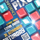 Pixel Conference Flyers - GraphicRiver Item for Sale