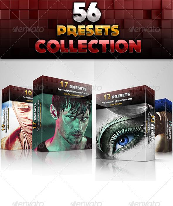 GraphicRiver 56 Preset Collection 5946425