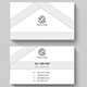White Light Business Card - GraphicRiver Item for Sale