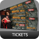 Creative Event Ticket Vol 1 - GraphicRiver Item for Sale