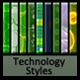 Technology Text Styles V1 - GraphicRiver Item for Sale