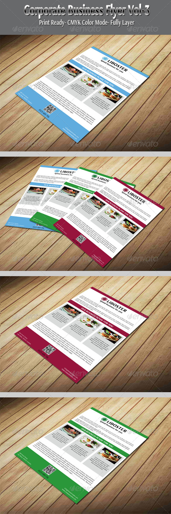 GraphicRiver Corporate Business Flyer Vol-3 5952779