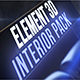 Interior Pack for Element 3d - VideoHive Item for Sale