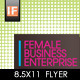 Female Business Flyer  - GraphicRiver Item for Sale