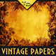 Vintage Autumn Papers with Leaves - GraphicRiver Item for Sale
