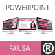 Fausa Powerpoint Presentation - GraphicRiver Item for Sale