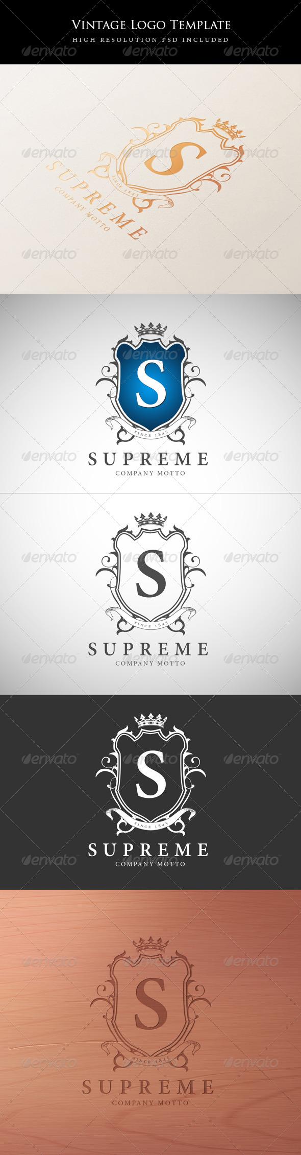 GraphicRiver Vintage Logo Template 5958089