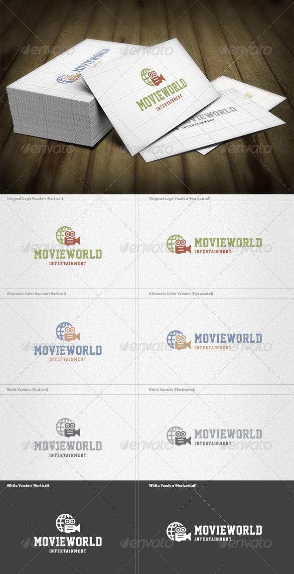 GraphicRiver Movie World Logo 5960468