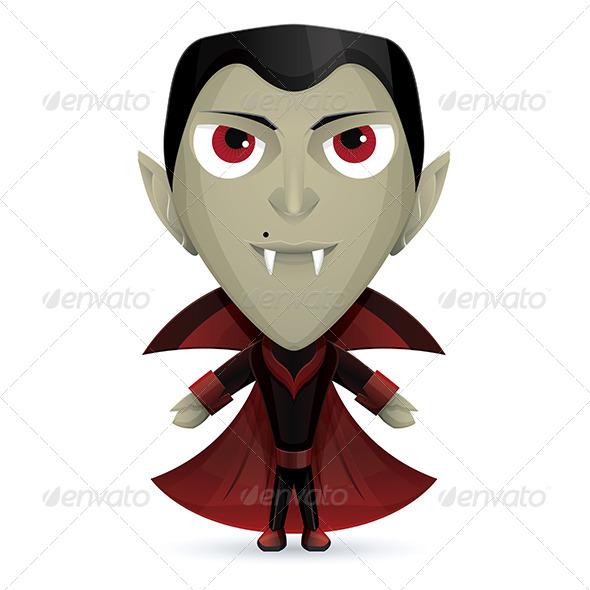 GraphicRiver Dracula Happy 5961265