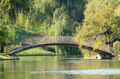 Arched Bridge Over Lake - PhotoDune Item for Sale