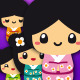 Cute Kokeshis - GraphicRiver Item for Sale
