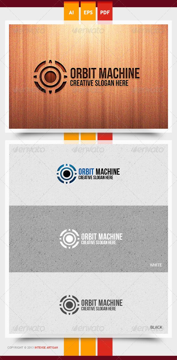 GraphicRiver Orbit Machine Logo Template 5963441