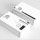 White Gray Clean Business Card - GraphicRiver Item for Sale