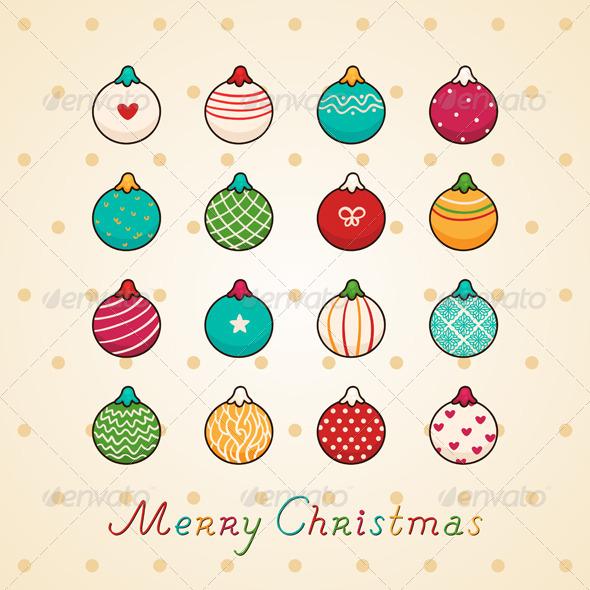 GraphicRiver Christmas Garlands 5964640