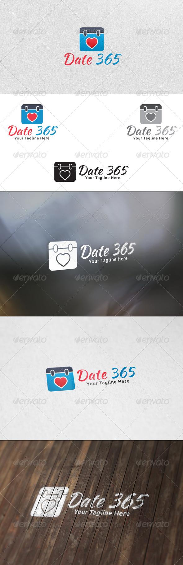 GraphicRiver Date 365 Logo Template 5965156