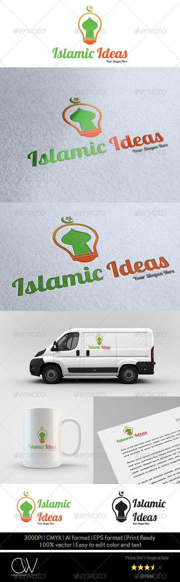 GraphicRiver Islamic Ideas Logo Template 5965222
