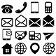 """Contact Us"" Icons Set - GraphicRiver Item for Sale"