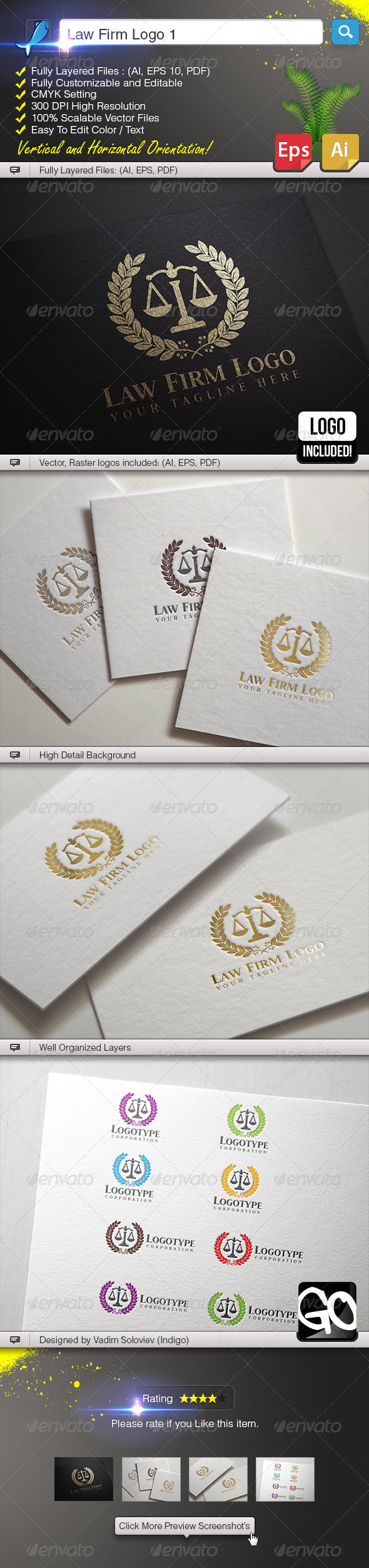 GraphicRiver Law Firm Logo 1 5969954