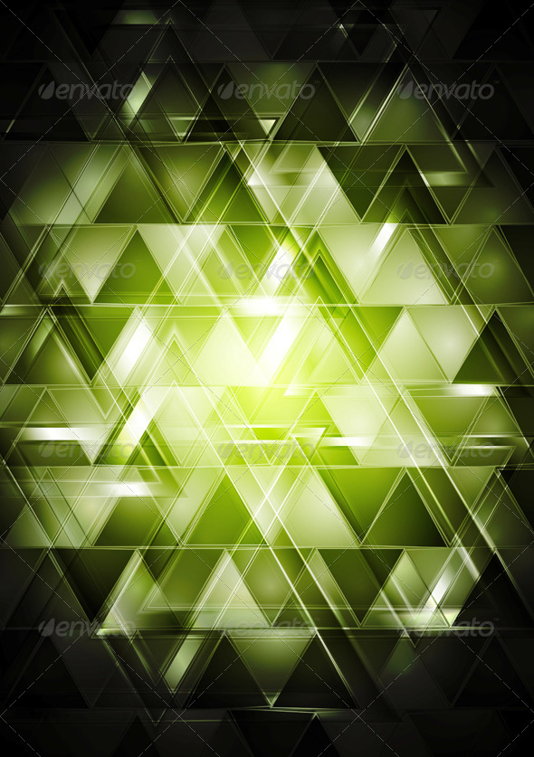 GraphicRiver Abstract Glossy Hi-Tech Backdrop 5970141