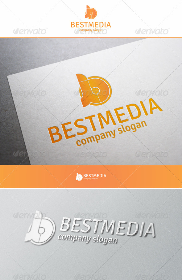 GraphicRiver Best Media B Creative Logo 5971220