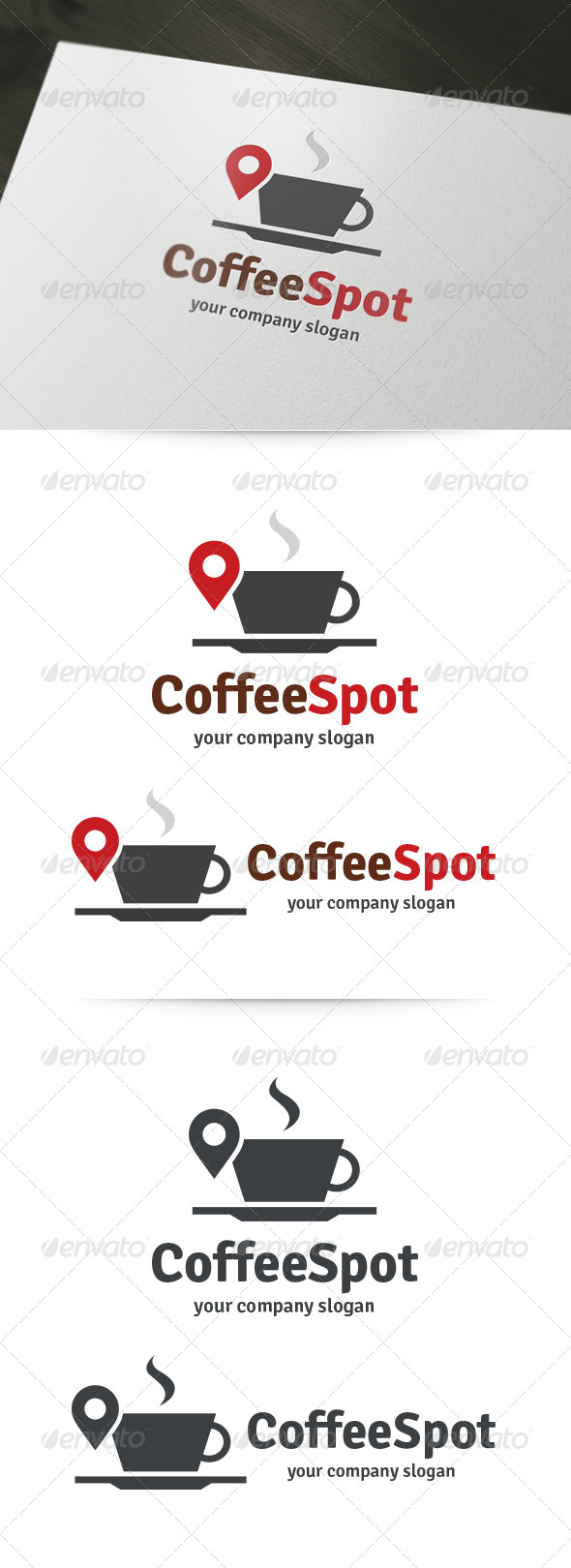 GraphicRiver Coffee Spot Logo 5956925