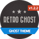 Retro Ghost: Old-School Ghost Theme - ThemeForest Item for Sale