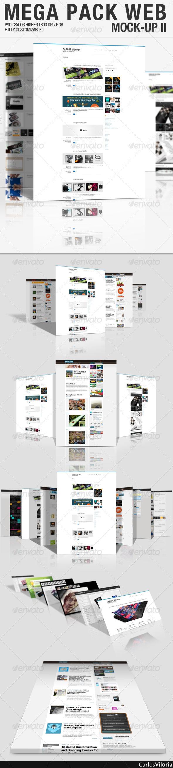 GraphicRiver Mega Pack WEB Mock-Up 2 102941